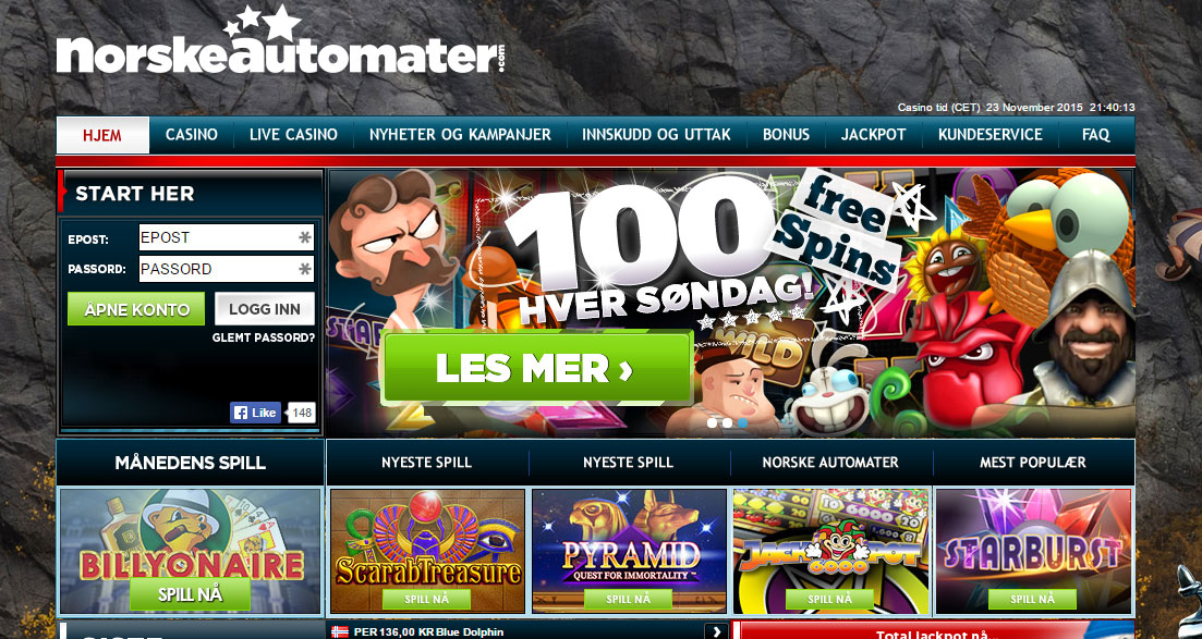 Norske automater 323428